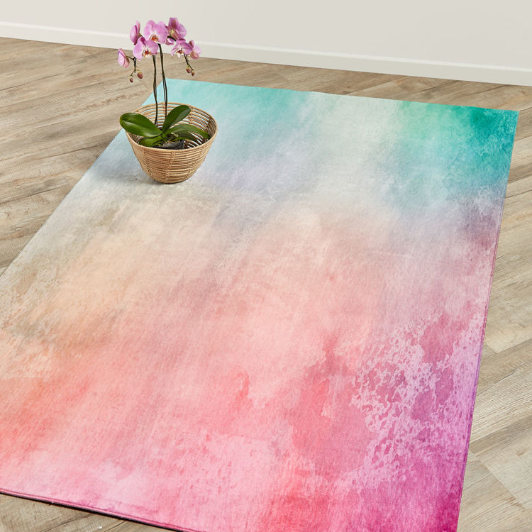 Picture of OMBRE PINK (PRINTED RUG)