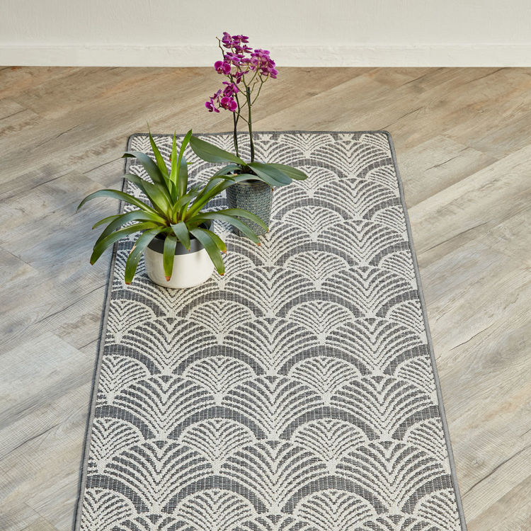 ART DECO GREY RUG