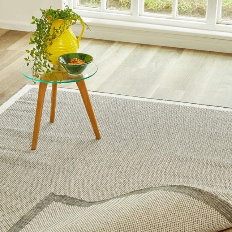 Picture of DUO SILVER RUG