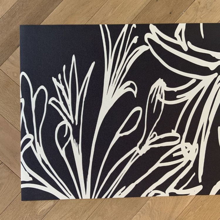 Picture of Agapanthus Night  - Kitchen Runner